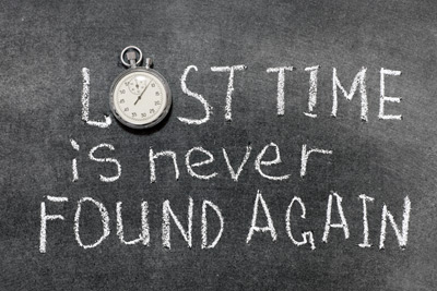 lost-time-is-never-found-again